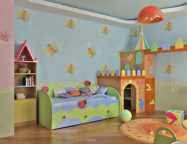 Детская комната для детей своими руками