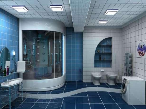 Гидробокс в ванной комнате