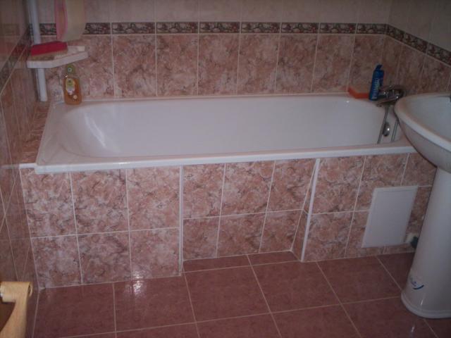 Облицовка плиткой ванны