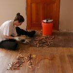 Снятие напольного покрытия