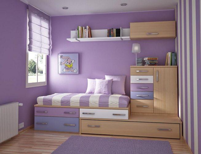 Стены в детской комнате из гипоаллергенных материалов