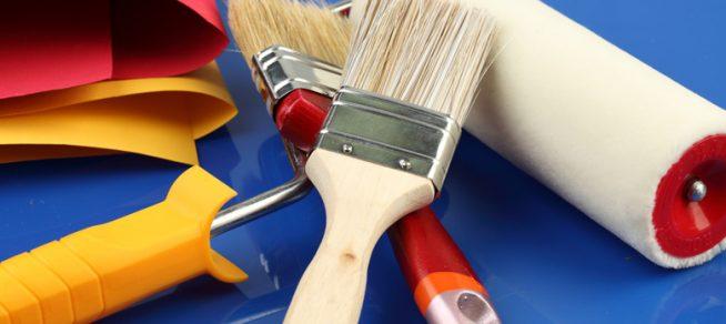 Устройства для покраски стен