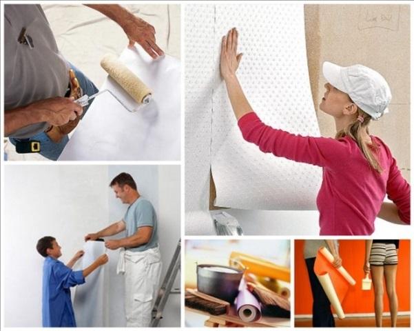 К ремонту стен нужно подготовиться основательно