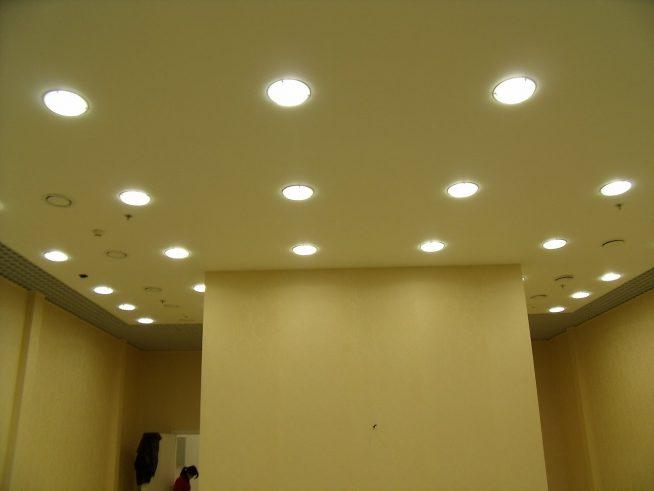 Точечное освещение для квартиры