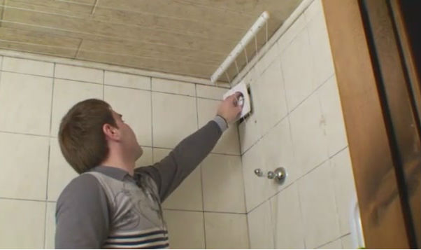 Монтаж вентилятора для ванной