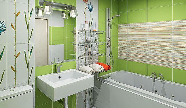 Качественное использование пространства в ванной комнате