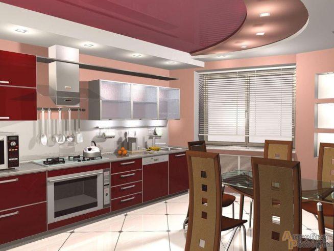 Особенности оформления кухни-студии
