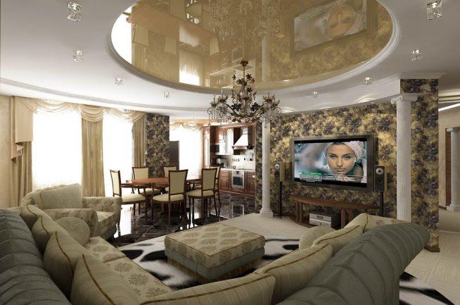 Особенности декорирования гостиной