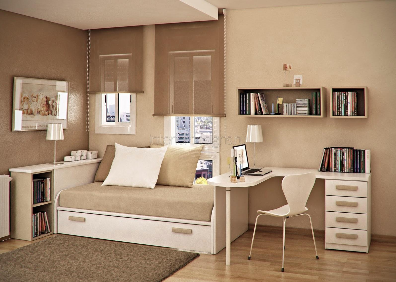 Особенности дизайна маленькой комнаты
