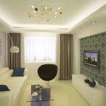 Как визуально увеличить небольшую гостиную
