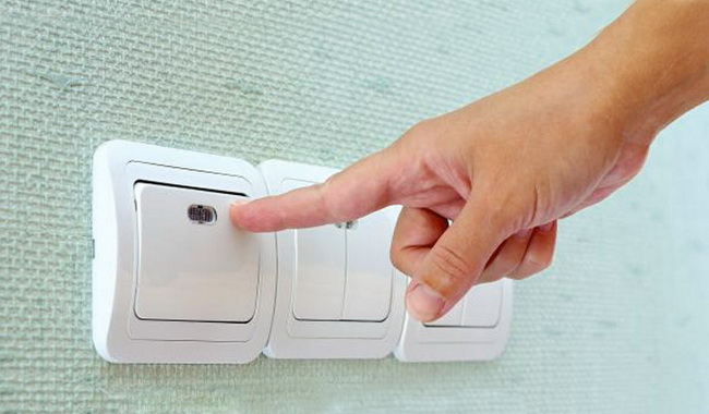 Несколько типов выключателей