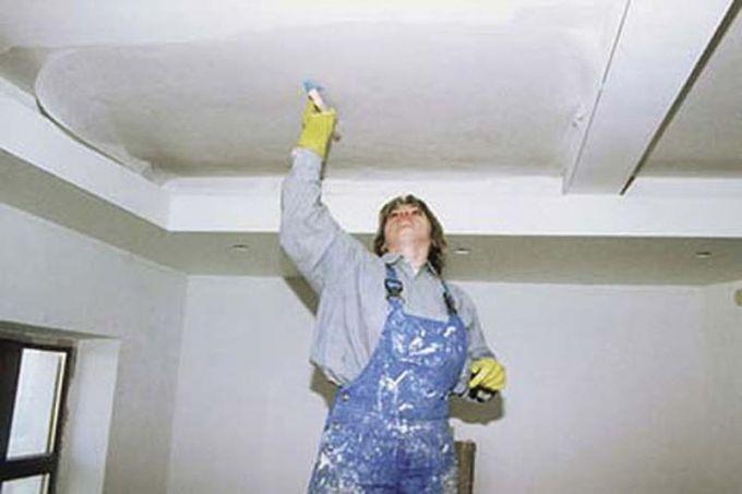 Ремонт потолка своими руками фото советы