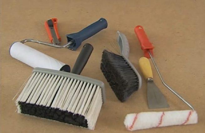 Инструменты для монтажа гибкого камня
