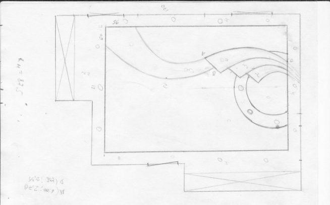 Схема установки многоуровневого потолка