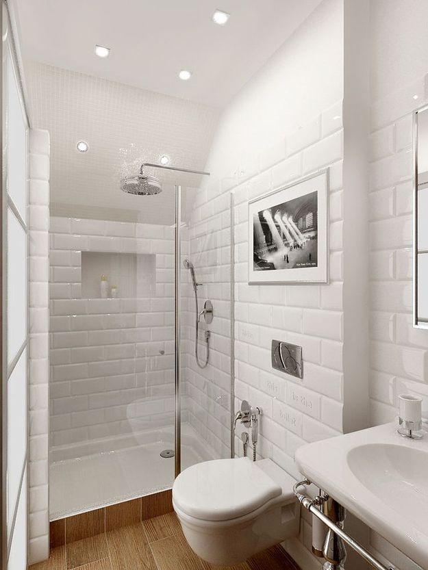 Гармония освещения и цветового решения в интерьере ванной