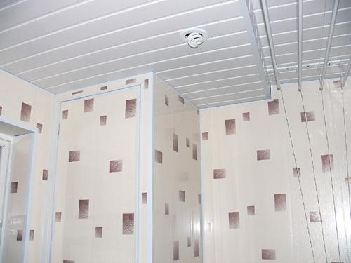 Декоративные пластиковые панели в отделке ванной