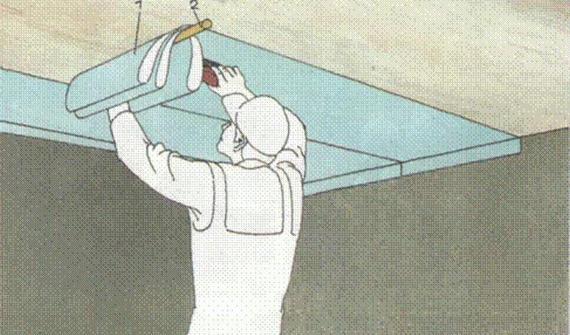 Как правильно поклеить обои своими руками на потолке 67