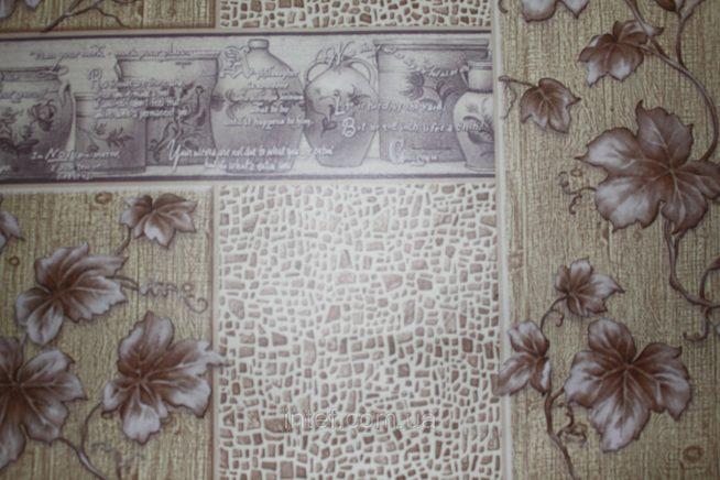 Влагостойкое обойное полотно с бумажной основой