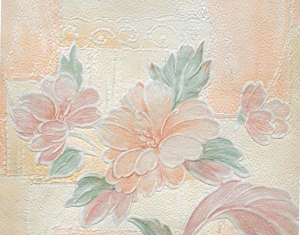 Бумажное обойное полотно со структурной поверхностью