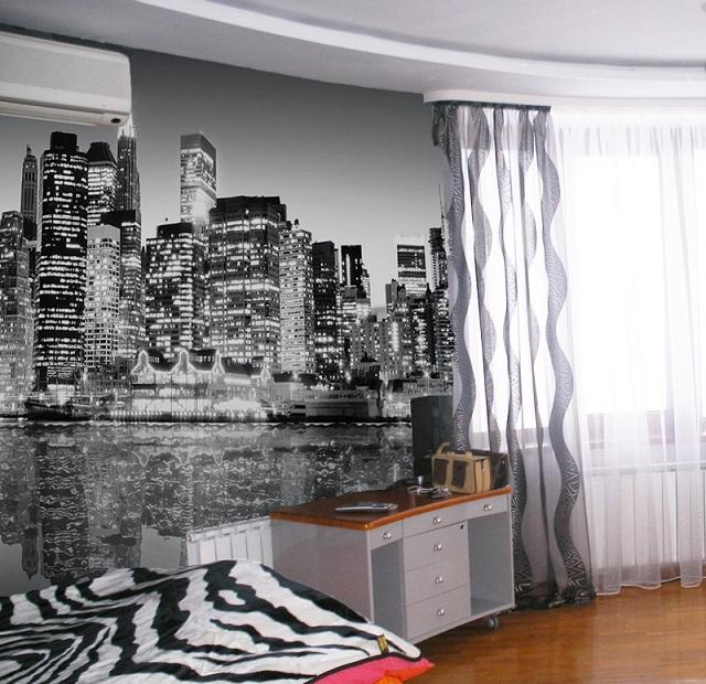 Бумажные фотообои с мелкопесочной текстурой