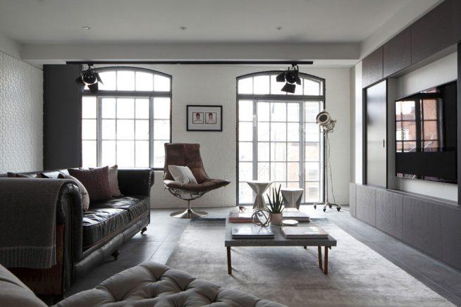 Лофт в спальне: простота и утончённая роскошь