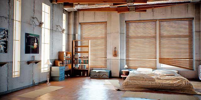 Мебель в спальне-студии