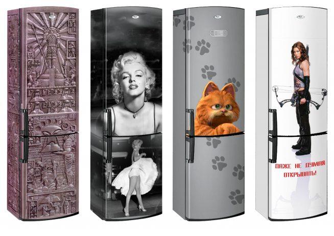 Холодильники с аэрографией
