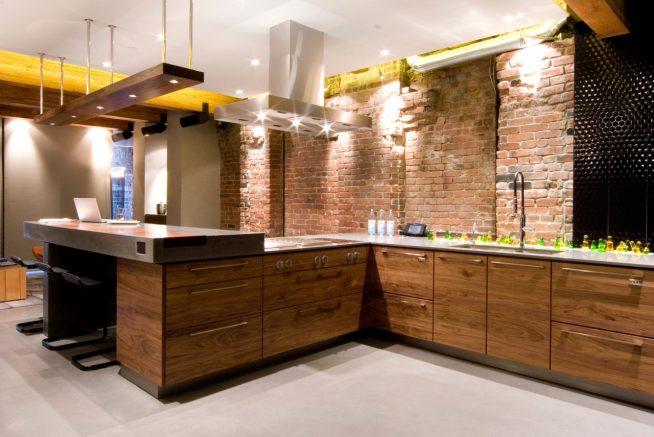 Рабочая зона кухни