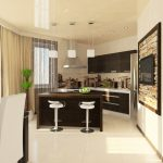 Дизайн проект трёхкомнатной квартиры