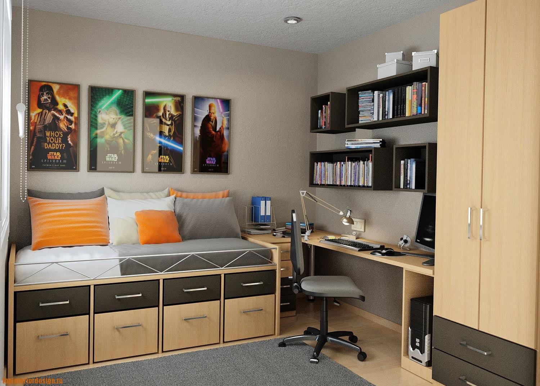 Спальня дизайн фото подростка