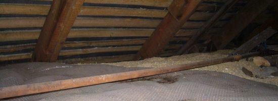 Утепление деревянного потолка своими руками 834