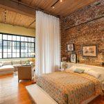 Как оформить спальню в стиле лофт