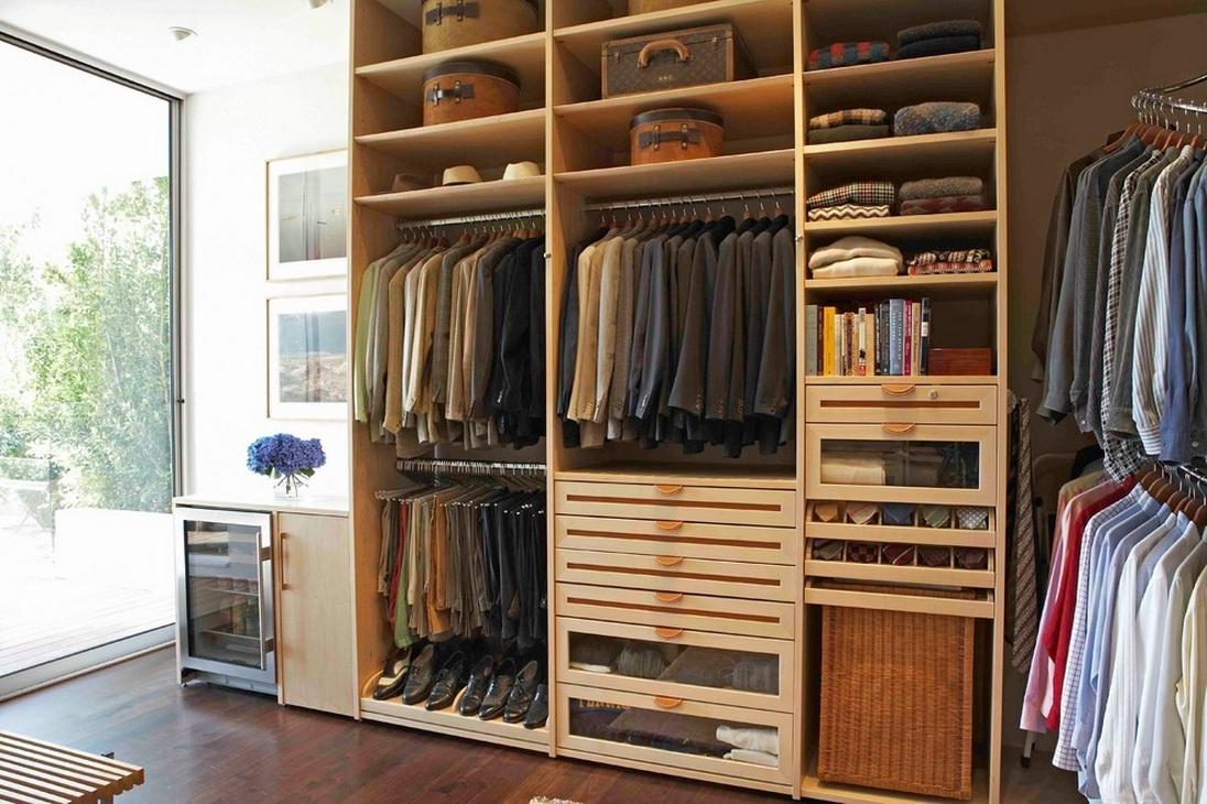 Создание гардеробной комнаты своими руками