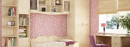 Особенности оформления комнаты девочки подростка