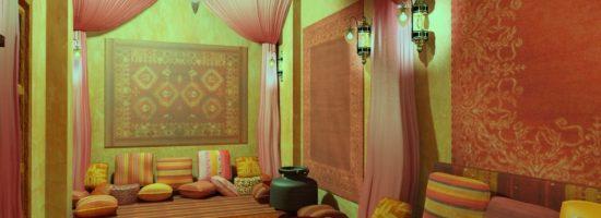 Дизайн интерьера – индийский стиль