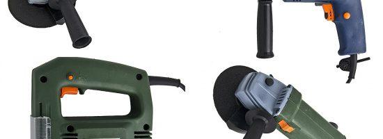 Электроинструмент для проведения ремонта в доме