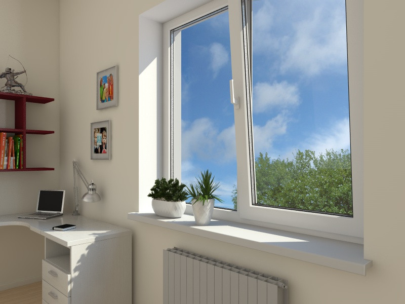 Металлопластиковые окна в детской комнате