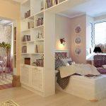 Способы разделения комнаты на зоны