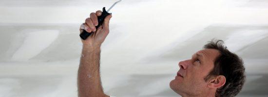 Как самостоятельно покрасить потолок
