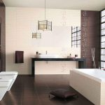 Дизайн плитки в ванную