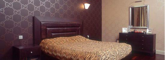 Дизайн обоев для спальни