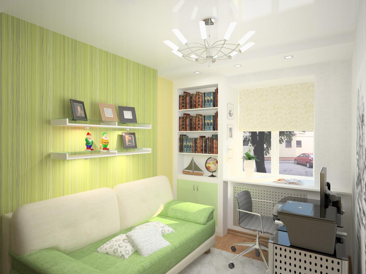 Ремонт комнаты для школьника своими руками 15