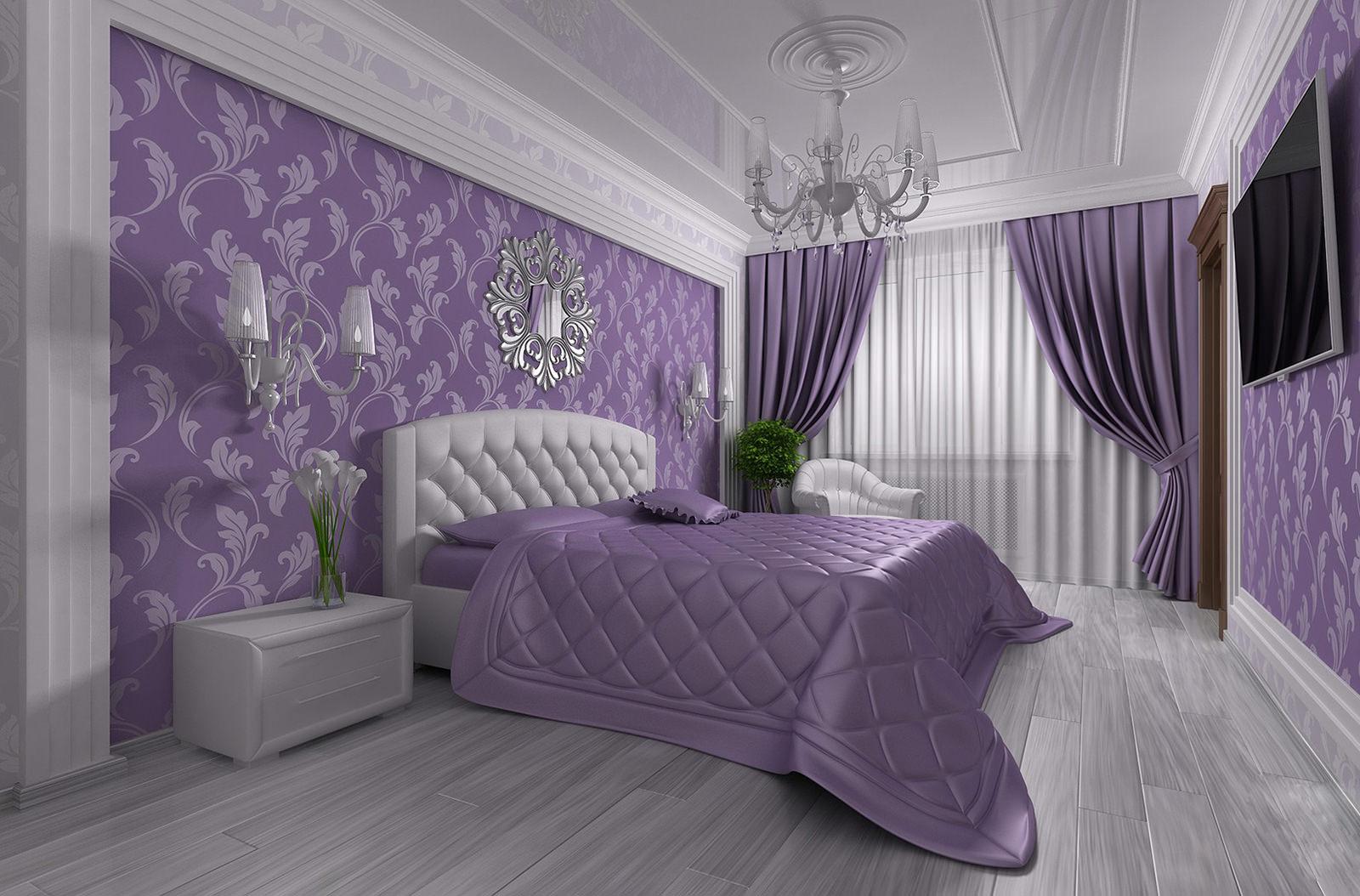 Дизайн спальни 16 кв. м.