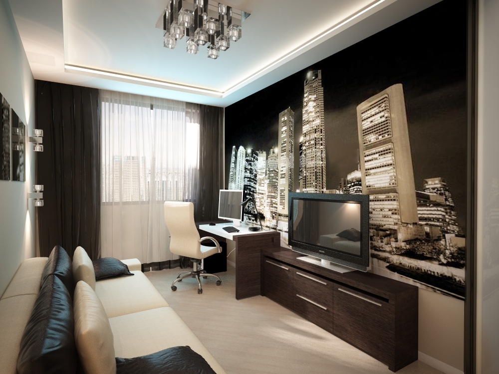 комната юноши фото дизайн