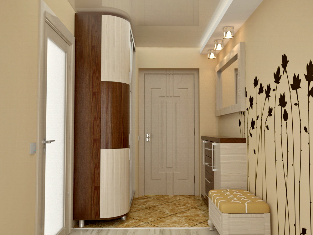 прихожая в квартире. фото