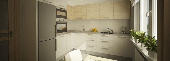 Дизайн кухни 9 кв. м.
