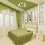 Дизайн спальни 10 кв. м.
