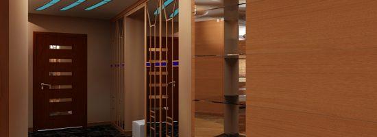 Дизайн потолков в прихожей