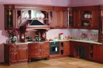 Кухня из дерева