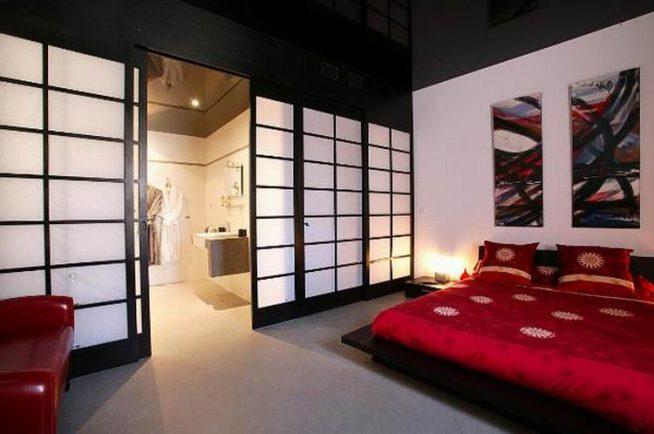 Межкомнатные двери в японском стиле